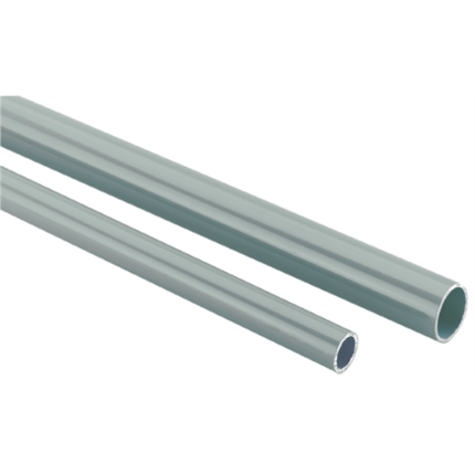 Rohrleitung 28 mm Stange-Alu