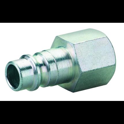 Stahl-Stecknippel G 1/2i