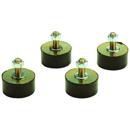 Gummischwingelemente, 100 mm