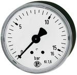 """Manometer, R 1/4"""", waagerecht"""