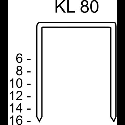 Klammern KL80/10CNK/3000